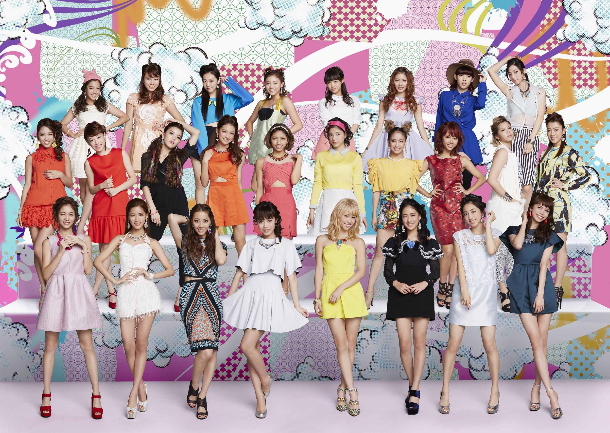 E-girls, promovendo o E.G. TIME